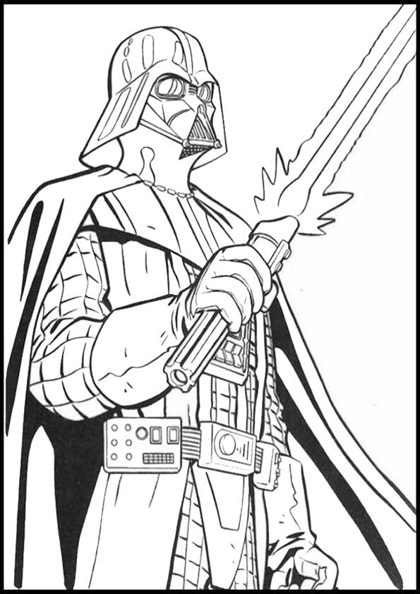 Pin auf Coloring pages Star Wars