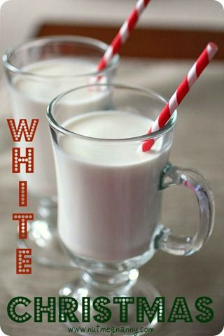 White Christmas In A Glass Add 1 Ounce Cream De Cacao And 1 Ounce