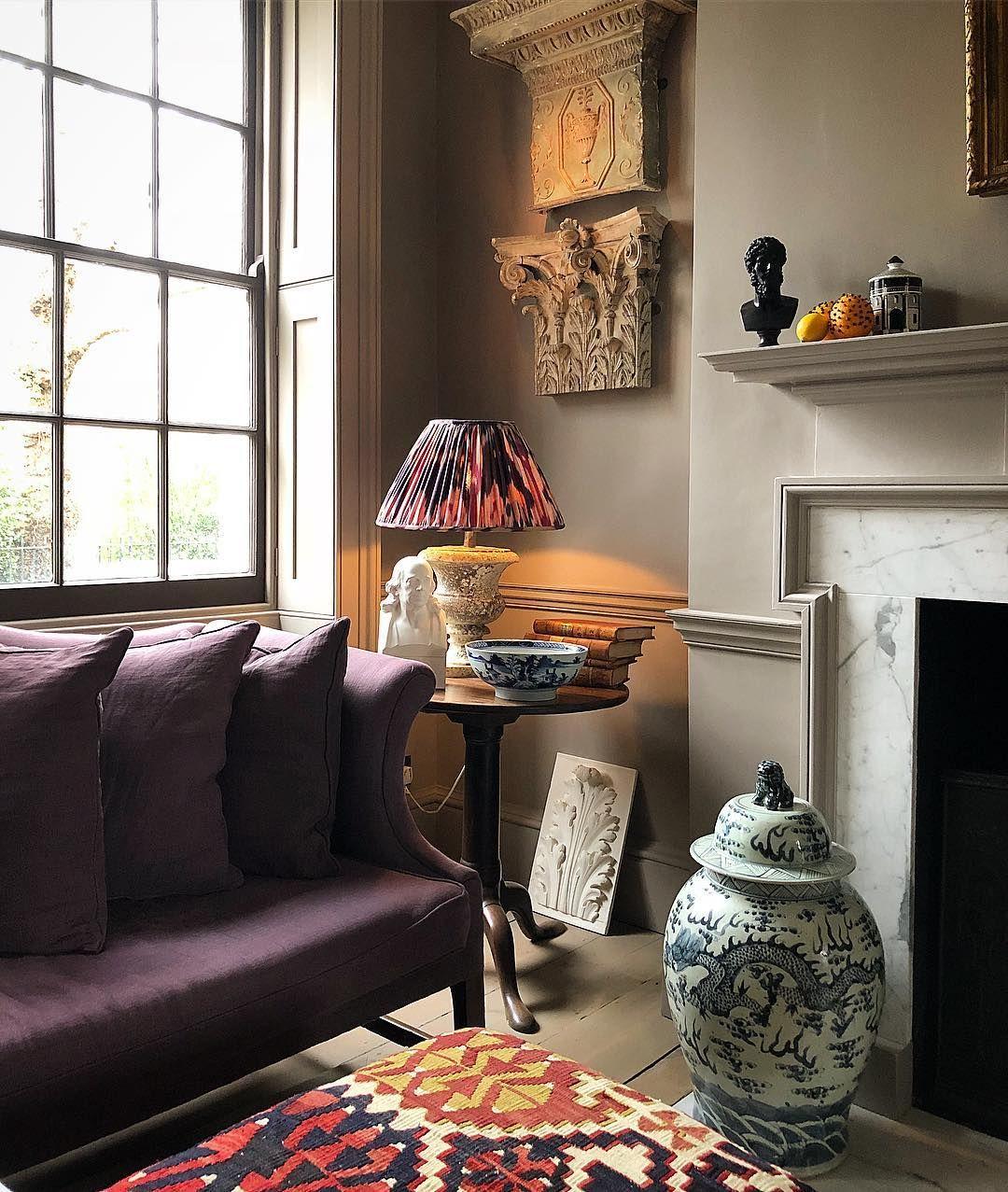Frank Slightly Worn On Instagram Beautiful English Living Room