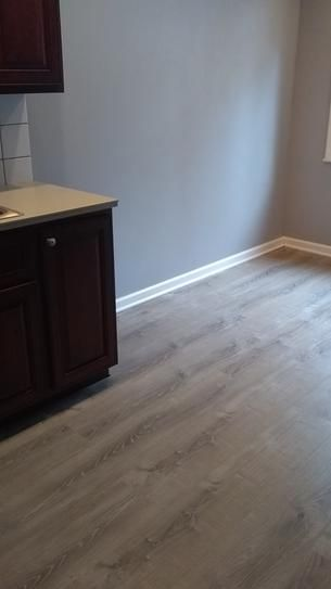 Our New Kitchen Floor In 2019 Vinyl Flooring Kitchen