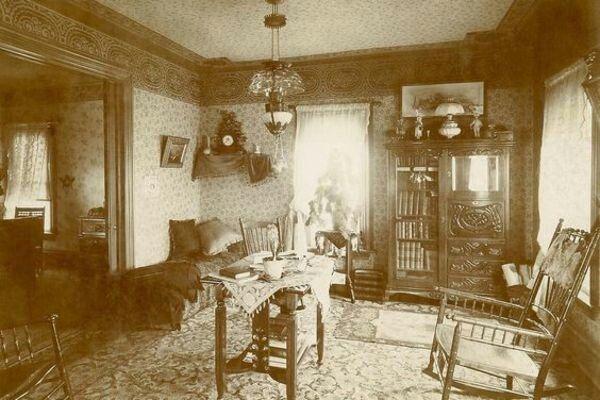 Victorian Era Interior Design 1880s 1890s vintage victorian era photos. inside victorian living