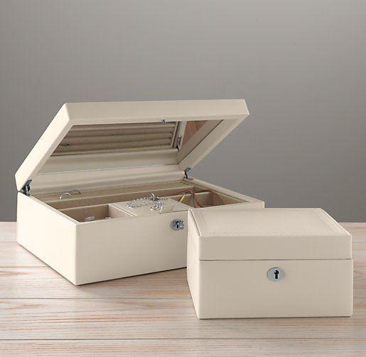 Heirloom Leather Jewelry Box Leather Jewelry Box Jewelry Box