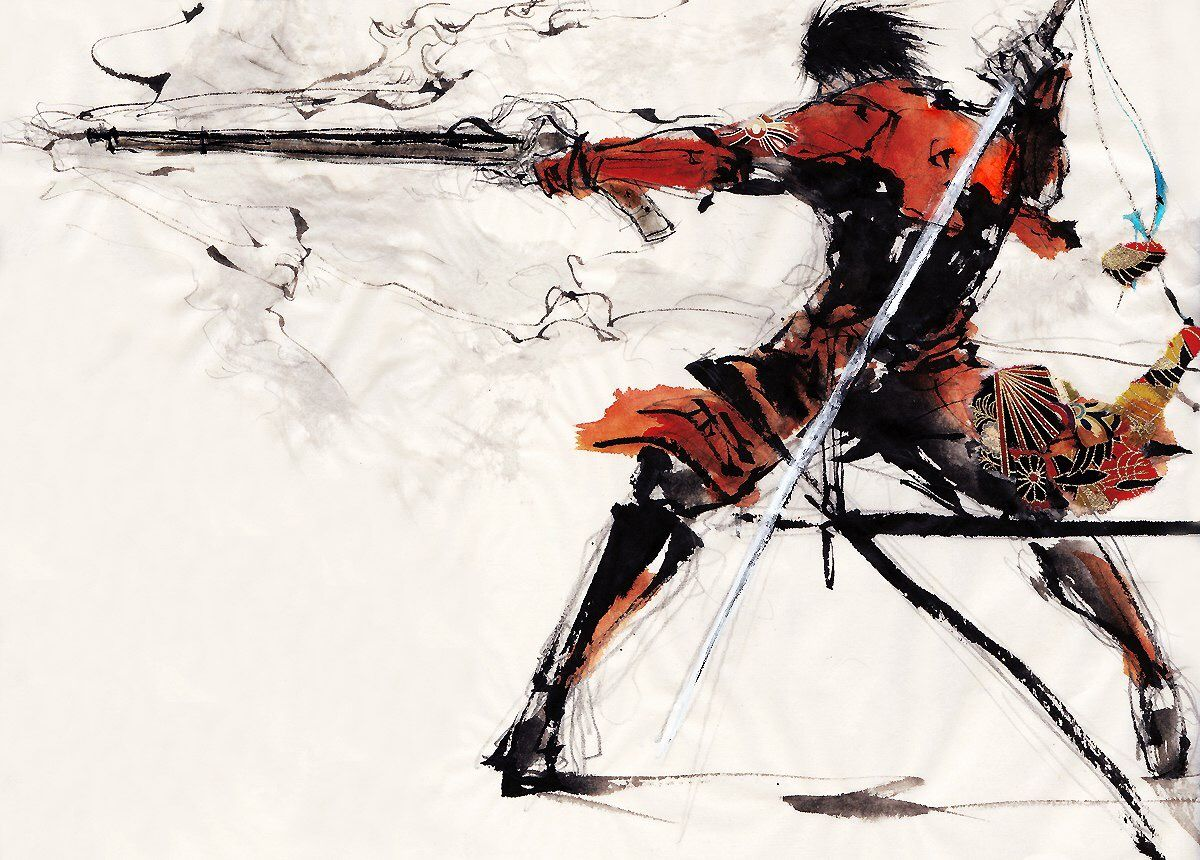 Pin by garret faughender on Anime warrior Samurai anime