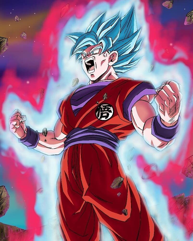 Goku Super Saiyan Blue Kaioken X20