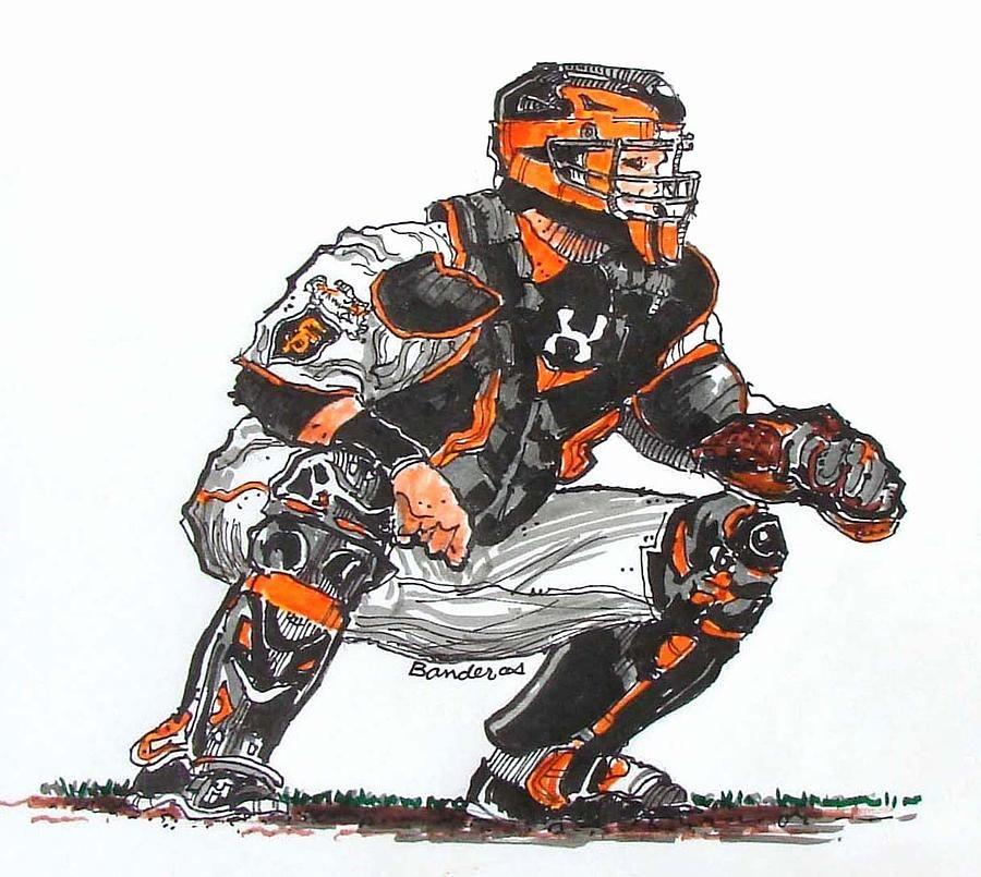 Baseball Catcher Drawing Google Search Player Pinterest