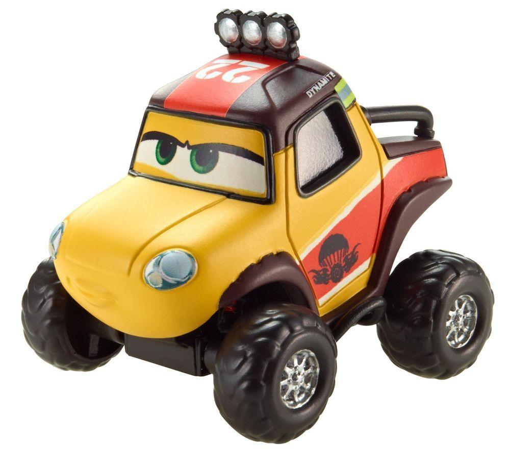 Disney PLANES Fire & Rescue DYNAMITE Smoke Jumper Allterain Die-Cast Vehicle #MATTEL