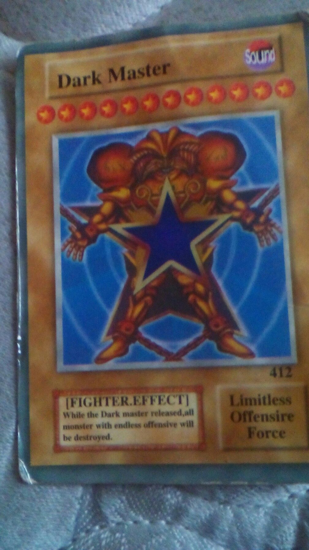 My only fake yugioh card lol yugioh cards