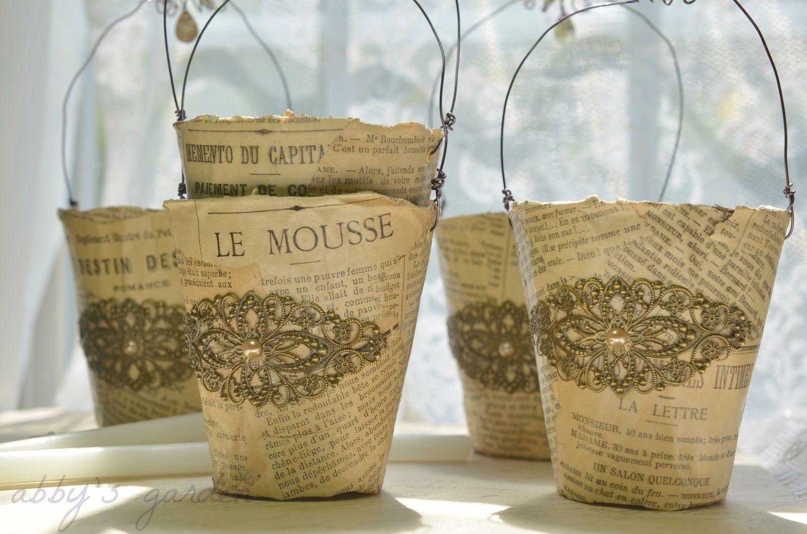 Abby's Paperie Garden: a little bit French