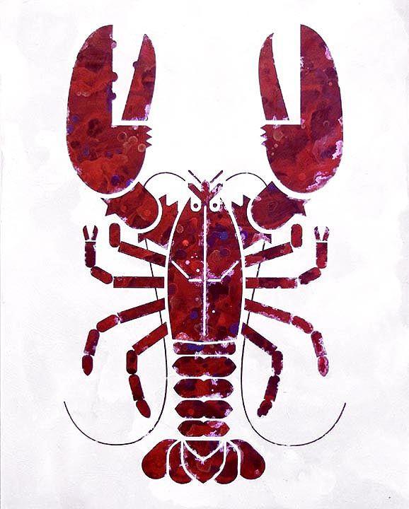 Best Scott Partridge Painting Lobster Partridge Painting 400 x 300