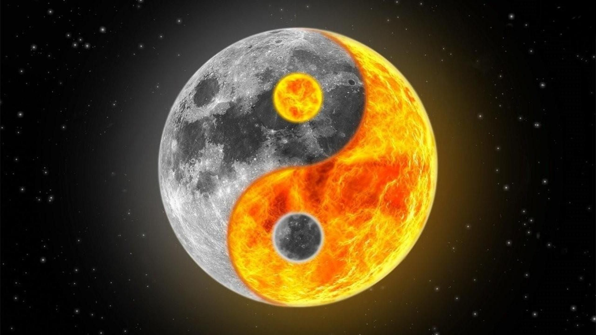 Yin and Yang Wallpaper (2880x1800 download link in