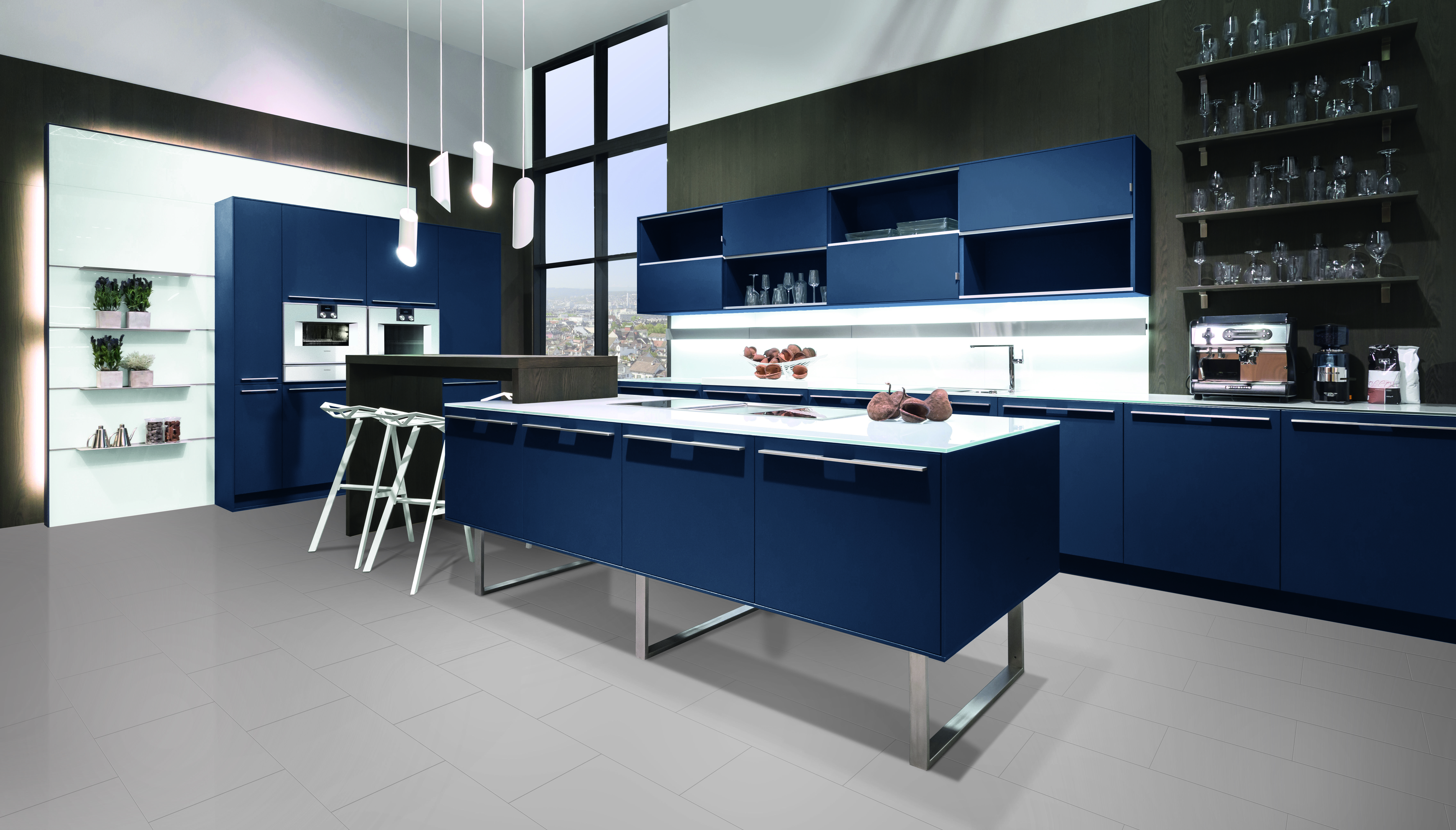 Pronorm | Black gloss kitchen - visit Alex Lee Kitchens, on ...