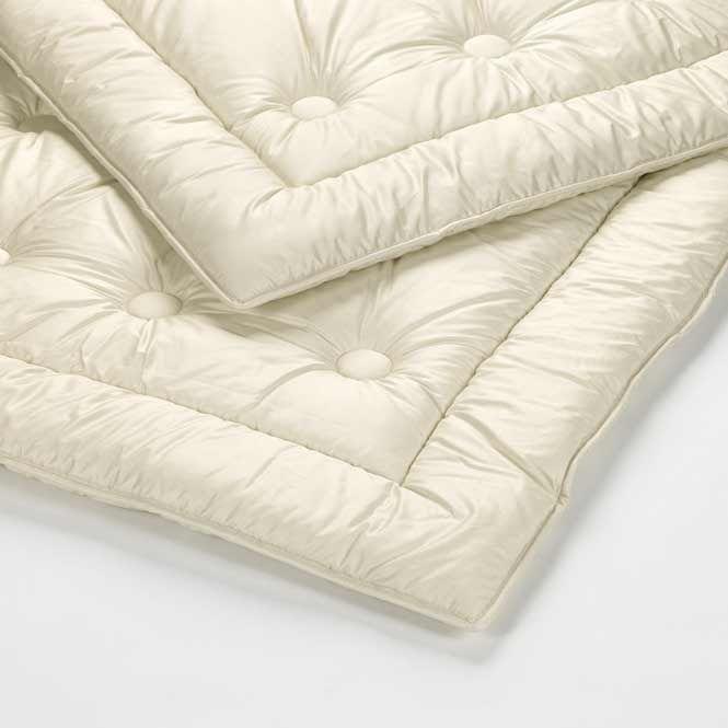 Extra Warme Winterdecke Schurwolle Premium Die Waschbare