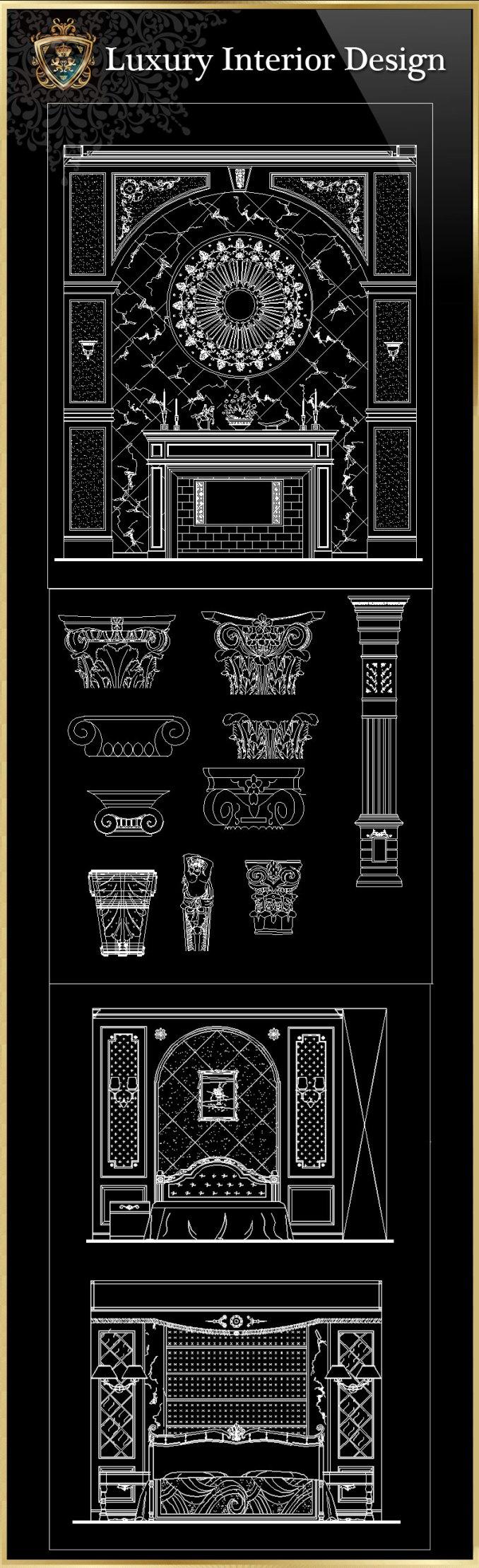 Innenarchitektur luxus  Luxus-Innenarchitektur CAD-Blöcke | FREE CAD BLOCKS & ZEICHNUNGEN ...