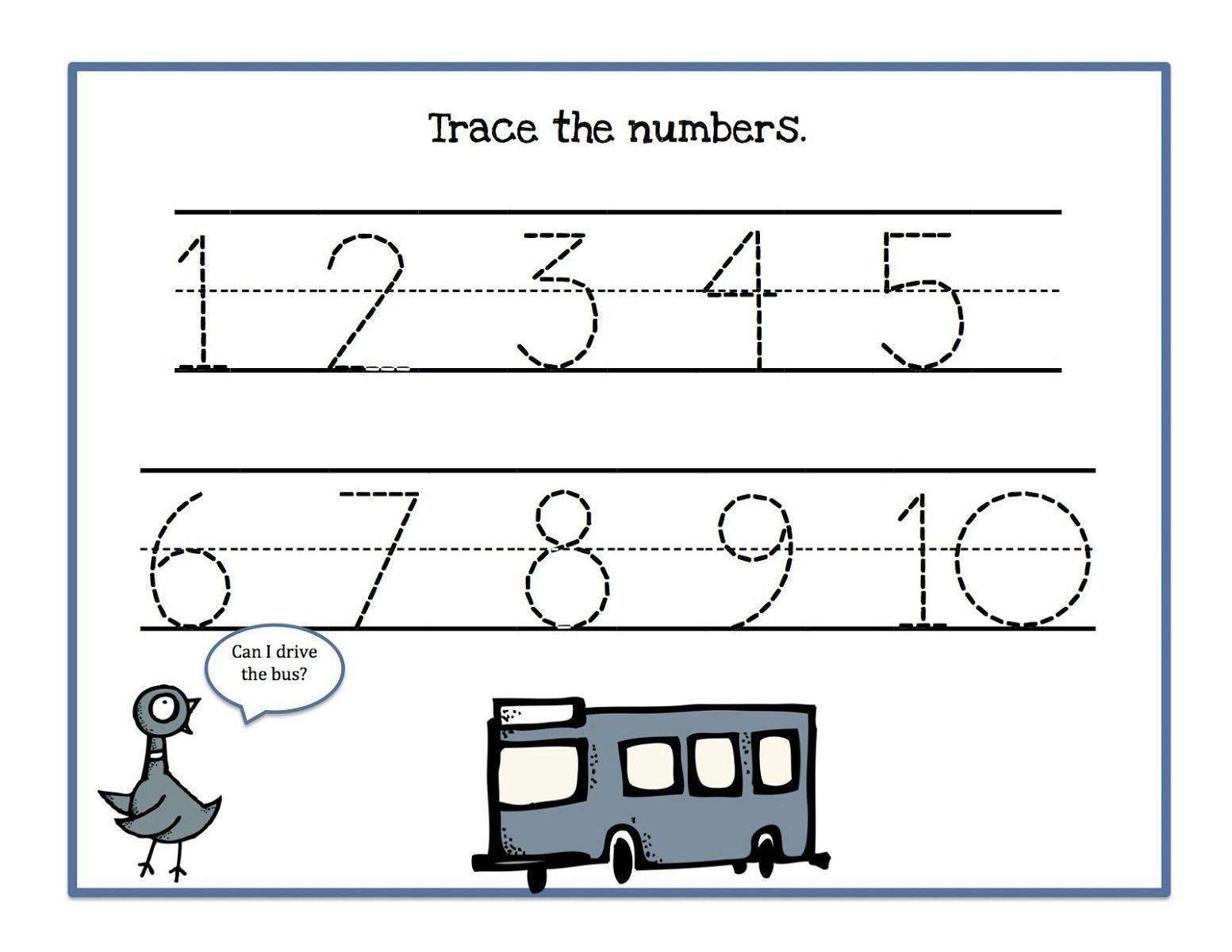 38 Free Printable Preschool Worksheets Tracing En