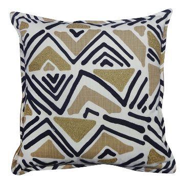 Geometric Throw Pillow 40 BlackTan Threshold™ SF Bedroom Interesting Black And Tan Decorative Pillows