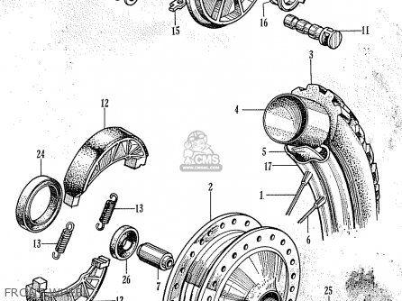 Honda C100 GENERAL EXPORT parts lists and schematics in