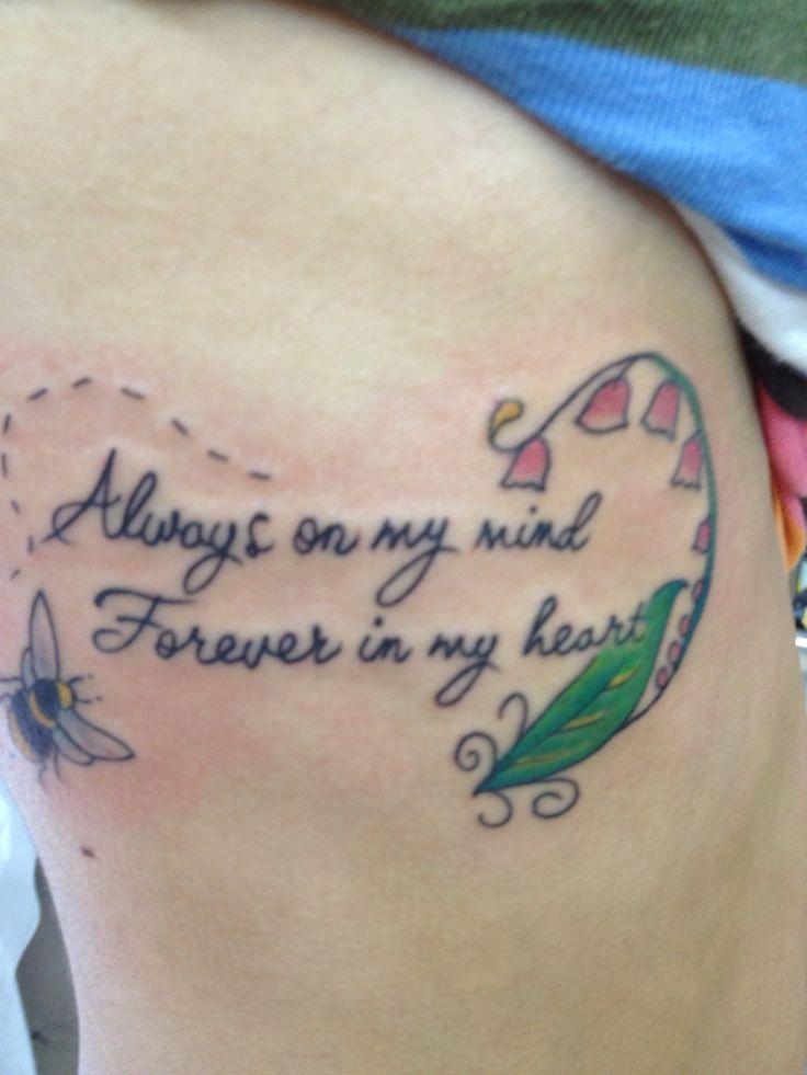 Back > Gallery For > Grandpa Quotes Tattoo | Tattoo | Tattoo ...