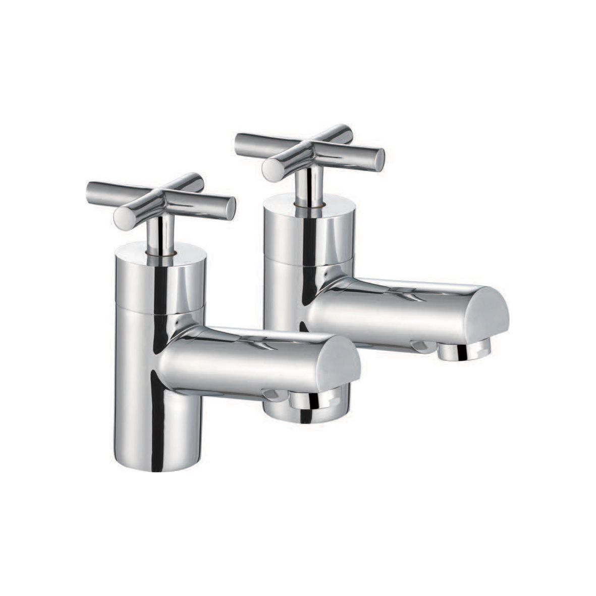 Technique Quartz Crosshead Bath Taps | AMS Plumbing | Bathroom ...