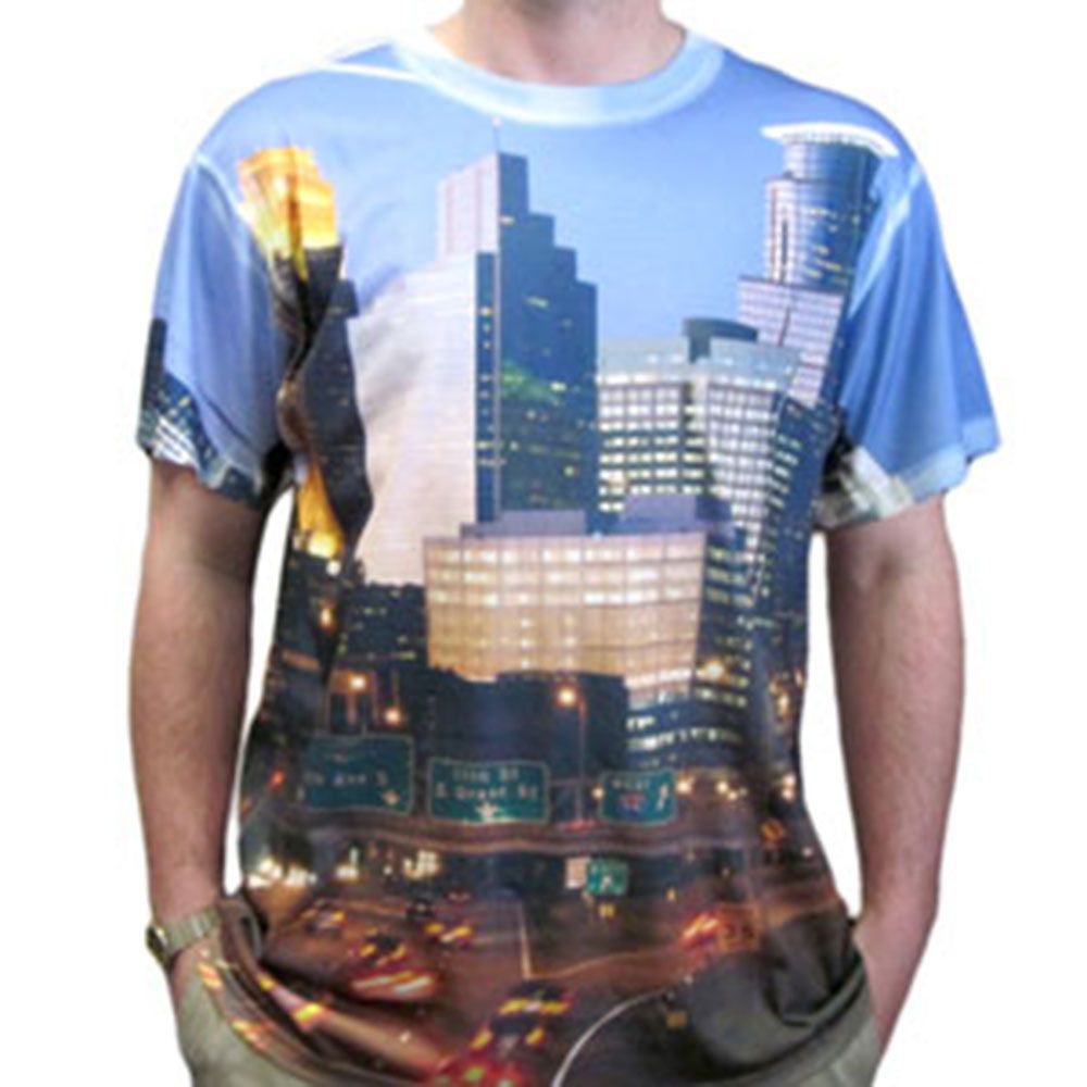 High quality all over dye sublimation printing t shirt t