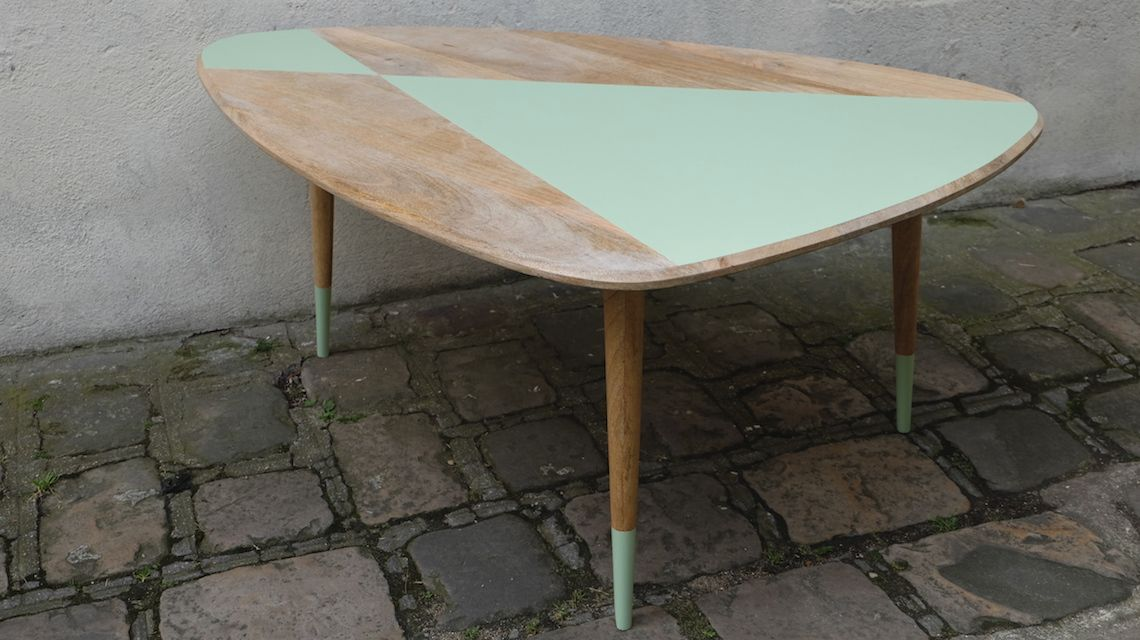 Tuto Renover Une Table Basse Dans Un Esprit Scandinave Table Basse Table Basse Scandinave Et Table