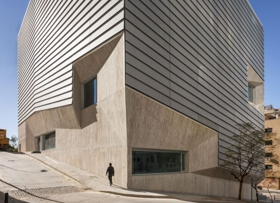 Winner / Category: Intervention in Existing Architectural Heritage: Public Library in Ceuta, Paredes Pedrosa Arquitectos, © Photo: Fernando Alda