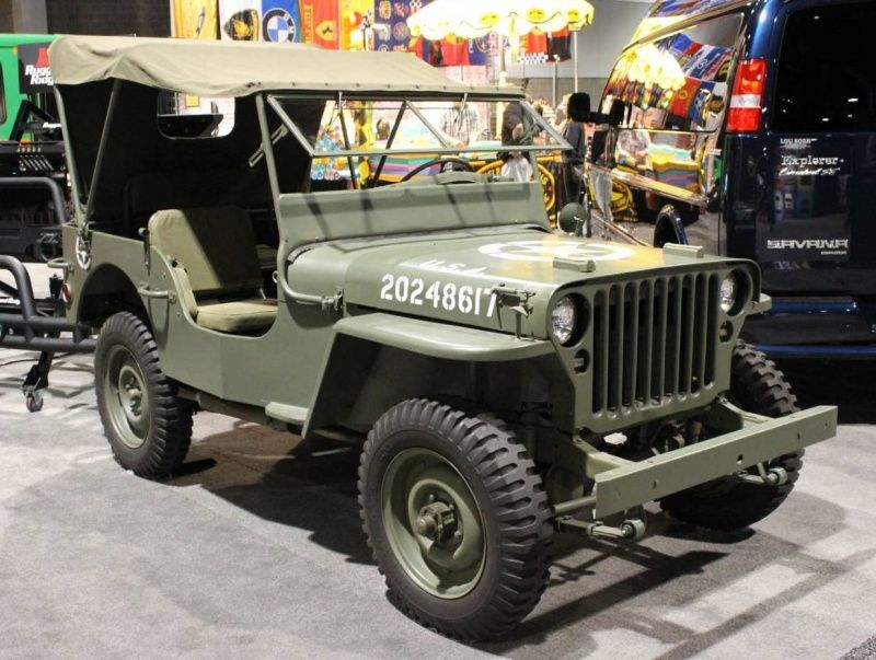 1941 Willys Military Jeep Willys Jeep Military Jeep Jeep