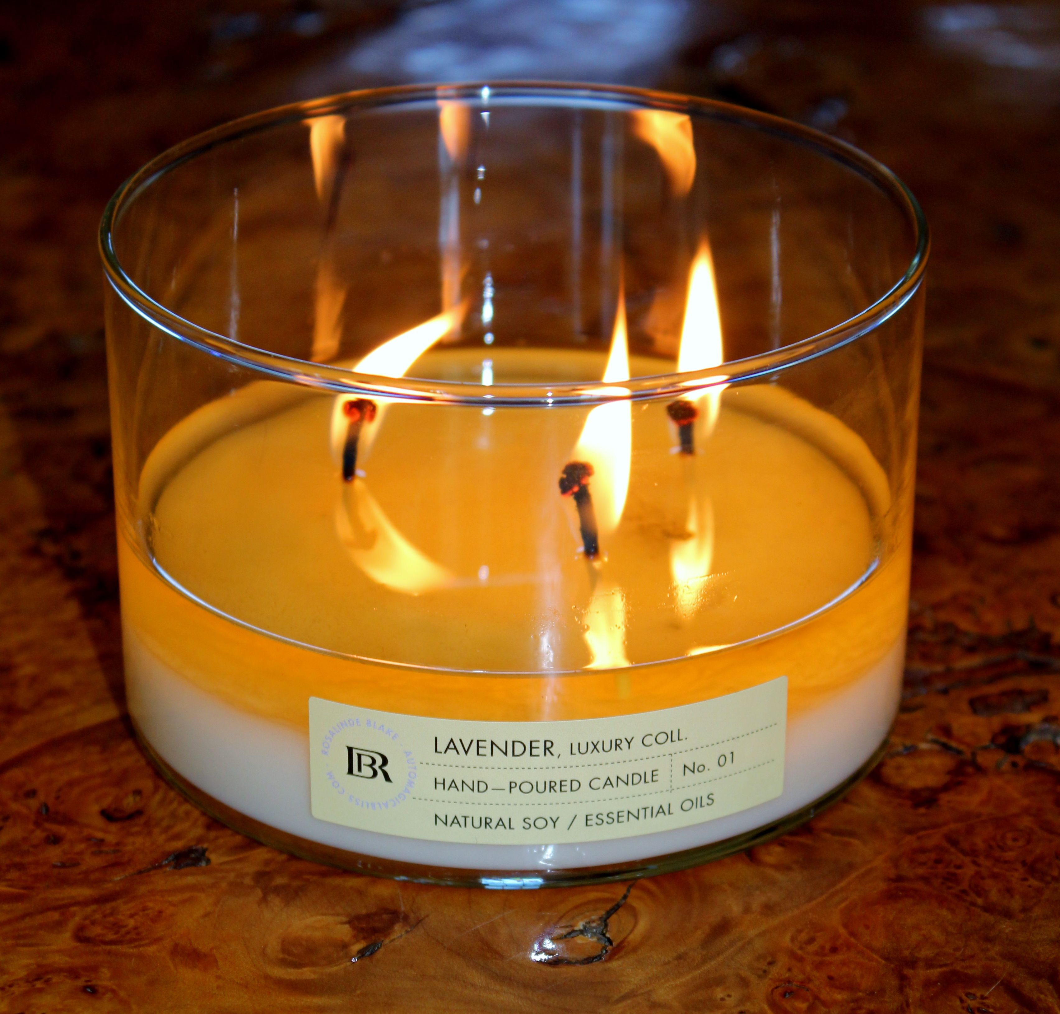 Always burn your candles long enough to create a