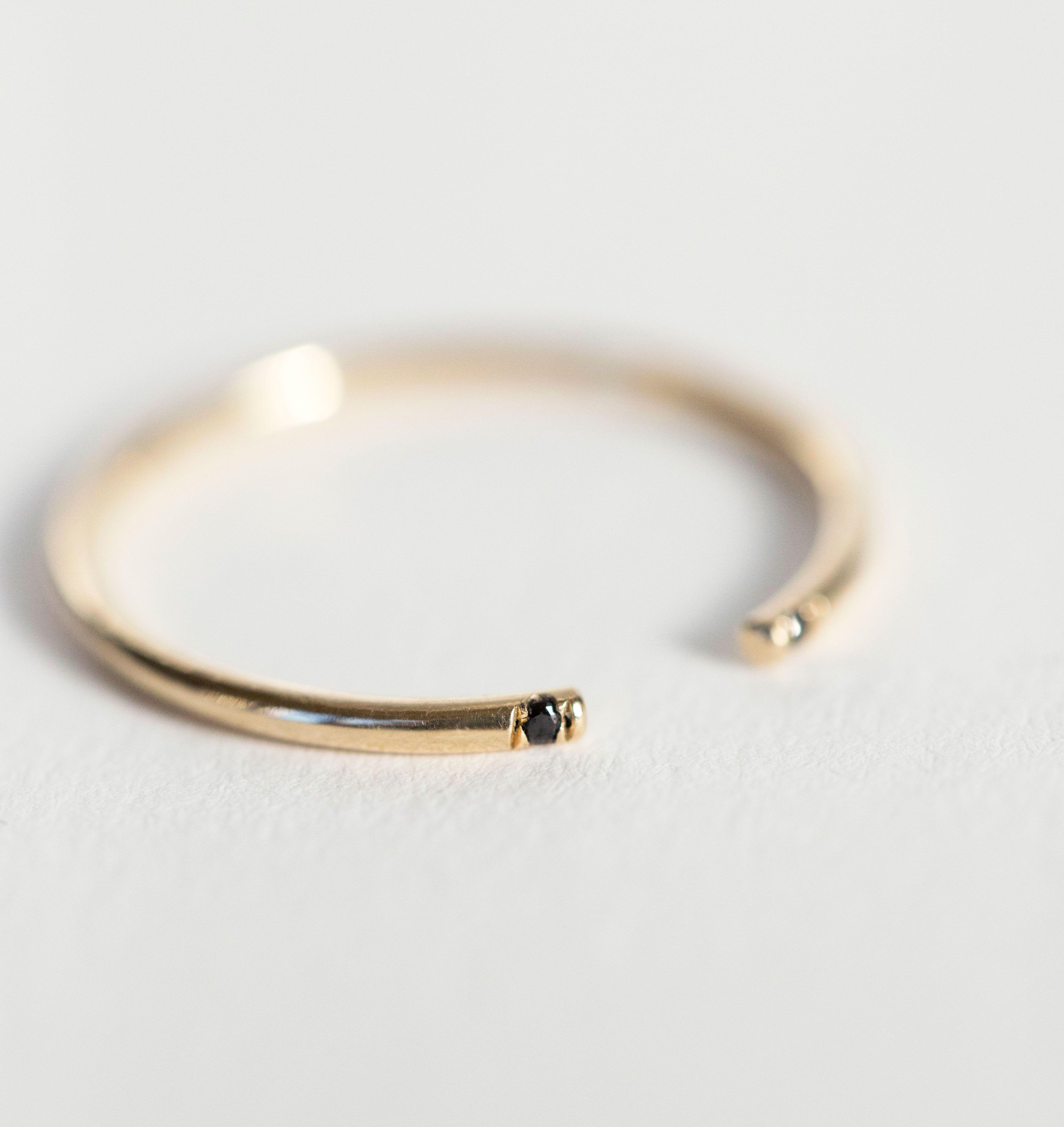 Jennie Kwon Designs cuff ring - Metallic IS3l06uX
