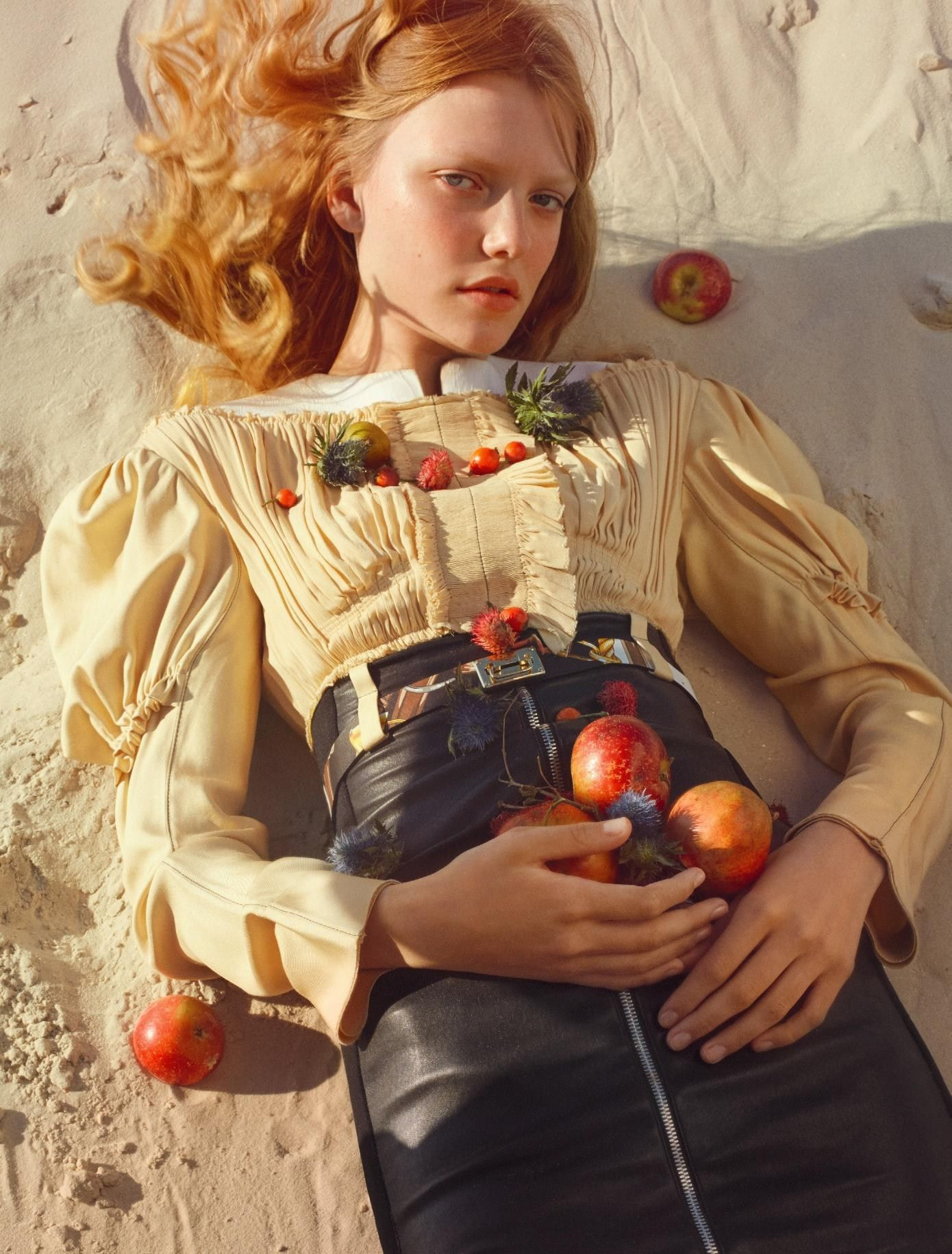 Mirage: Roos Abels by Txema Yeste for Numéro 179 December 2016/January 2017