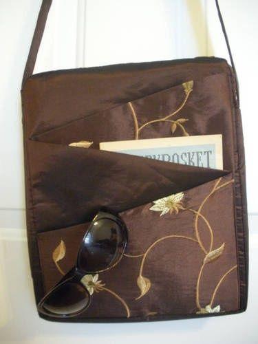 zig zag pockets on pocketbooks | 16 best images about Purses, bags, etc. on Pinterest | Owl purse, Hobo ...