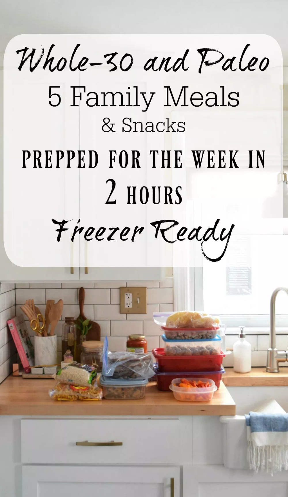 Photo of Whole-30 and Paleo- Family Meal Prep for the week – Nesting With Grace