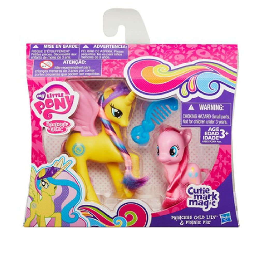 New My Little Pony Character Figure Princess Pack Gold Lily Pinkie