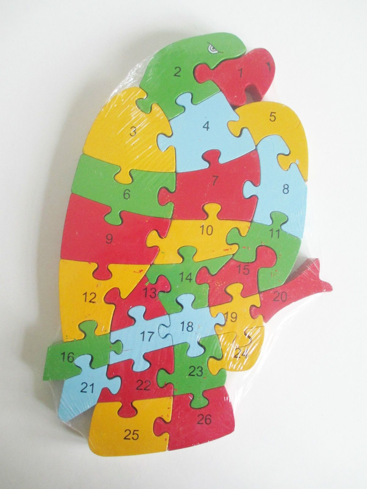 Educational Numbers Jigsawpuzzle Letters Wooden With And colorfull SUzMVp