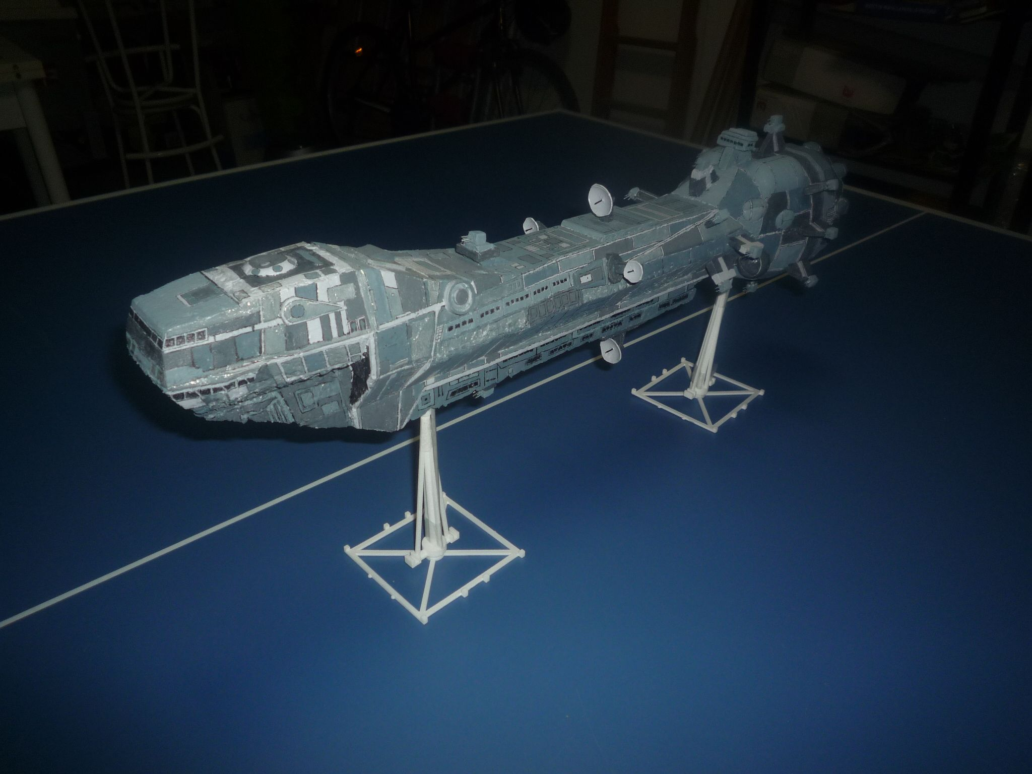 Star Wars Empire at Star Trek Canopy//Hatch Cover 3D Printed