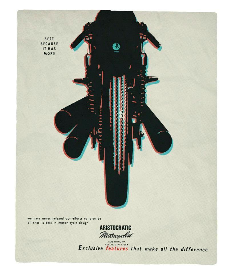 Aristocratic Motorcyclist