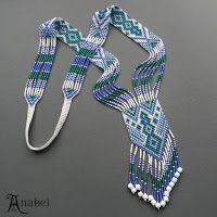 Схема гердана - ткачество / гобеленовое плетение - loom | - Схемы для бисероплетения / Free bead patterns -