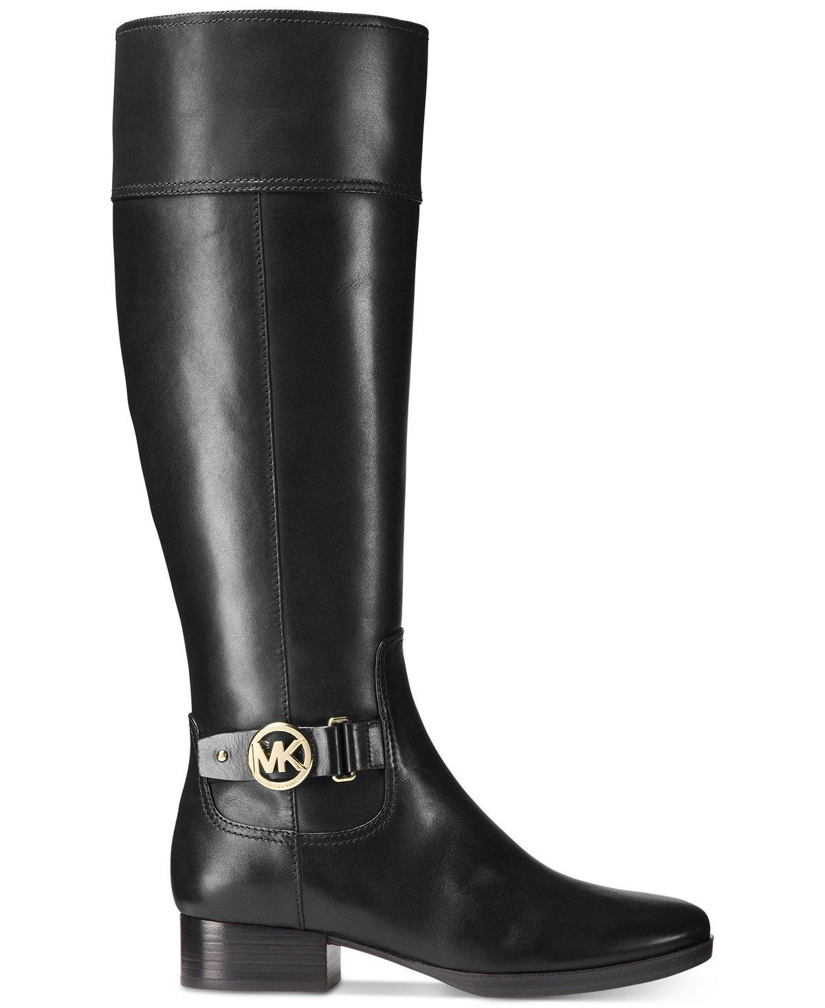 40ed57982d1a MICHAEL Michael Kors Harland Riding Boots - Michael Kors Boots - Shoes -  Macy s