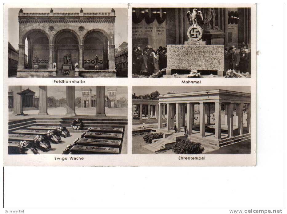 München Hauptstadt der Bewegung -Feldherrenhalle/Ehrenmal/Mahnmal ...