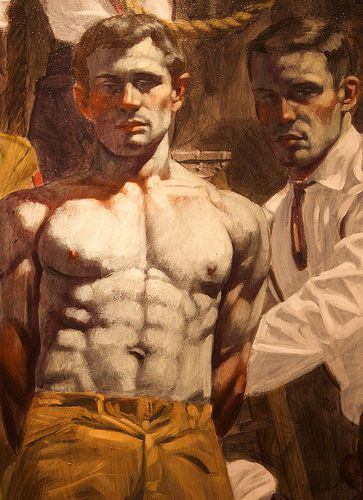 Gay erotic art historical