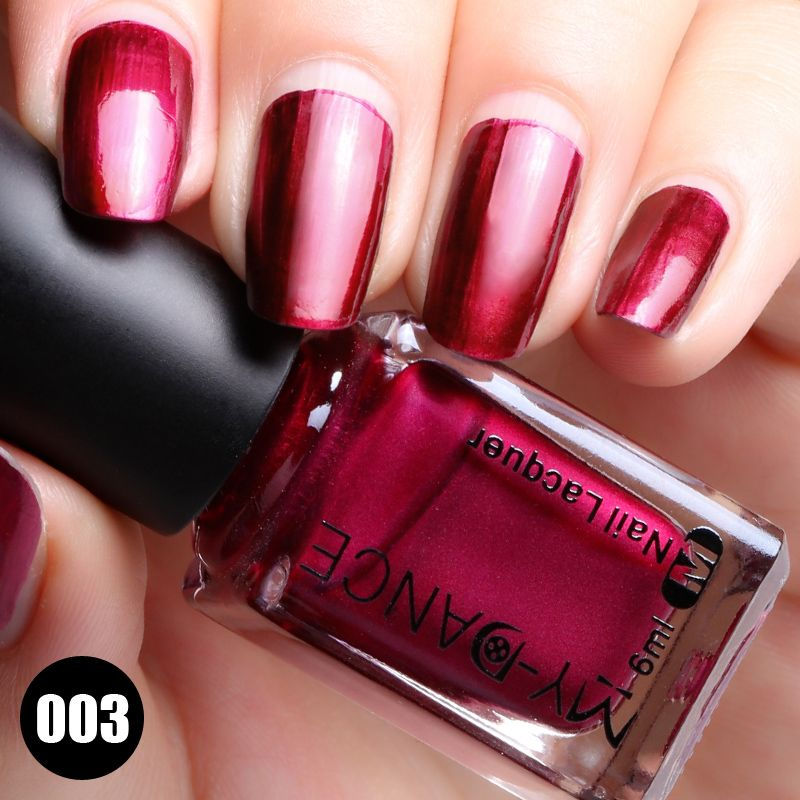 MYDANCE Brand 2017 New Metal Nail Lacquer Long Lasting Quick Dry ...
