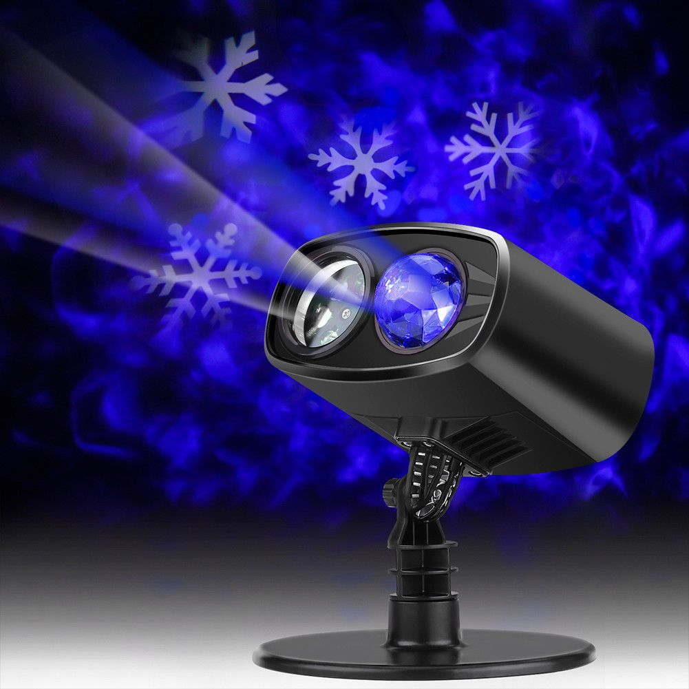 Xmas Outdoor Led Light Moving Snowflake Landscape Laser Projector Lamp Au Us Gl Led Projector Lights Christmas Light Installation Christmas Lights Indoor Decor