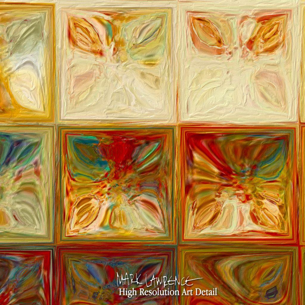 Painting Detail- Modern Tile Art | Tile Art #2, 2015. Modern Mosaic ...