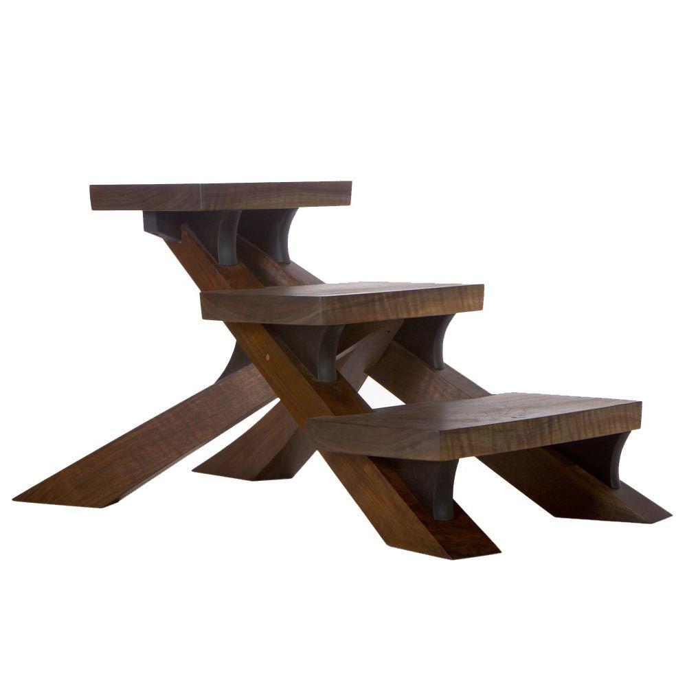Wooden dollhouse step foot stool wood footstool stepstool furniture - Japanese Step Stool By David Rasmussen Furniture