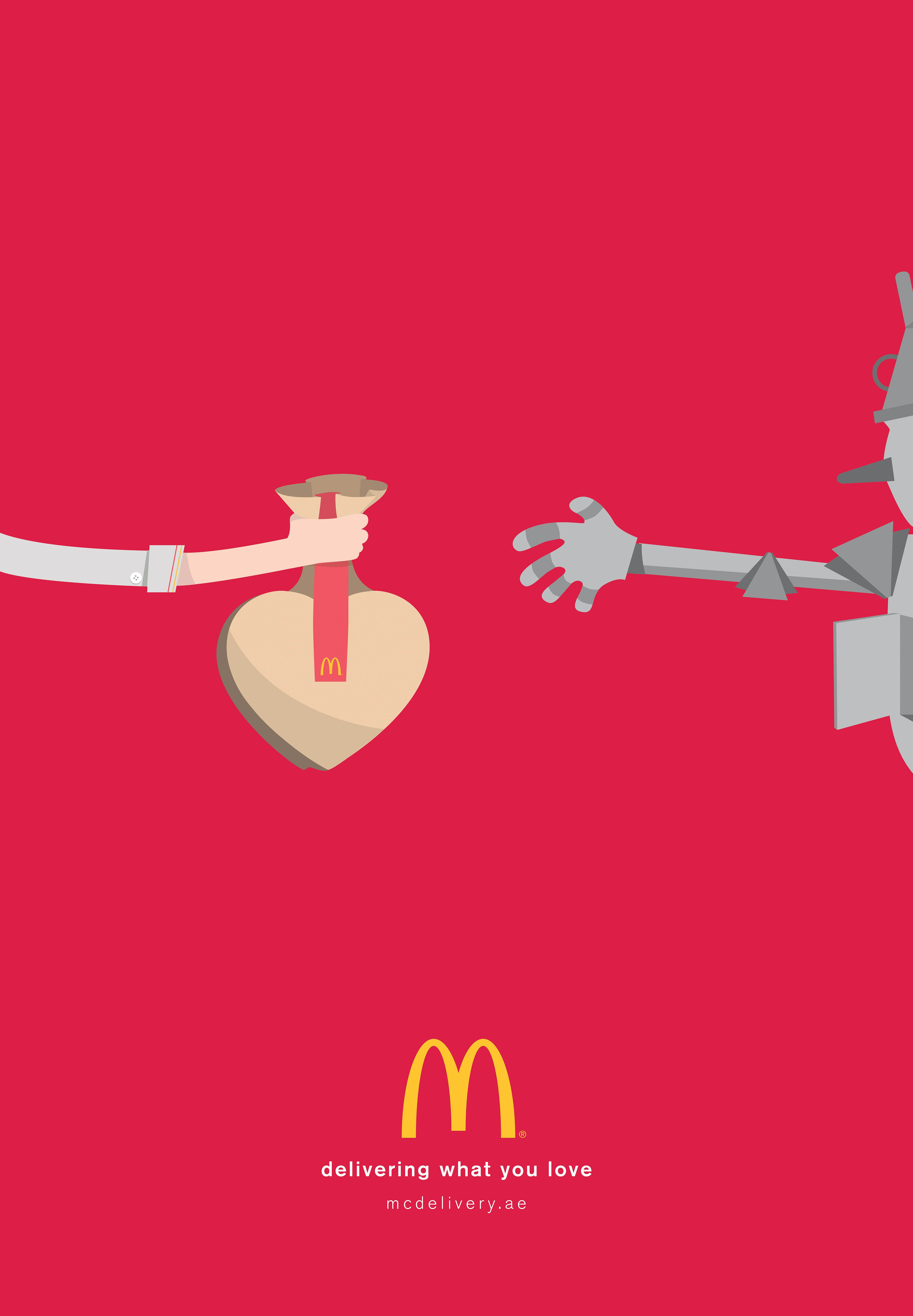 - McDonald's McDelivery: Delivering what you love
