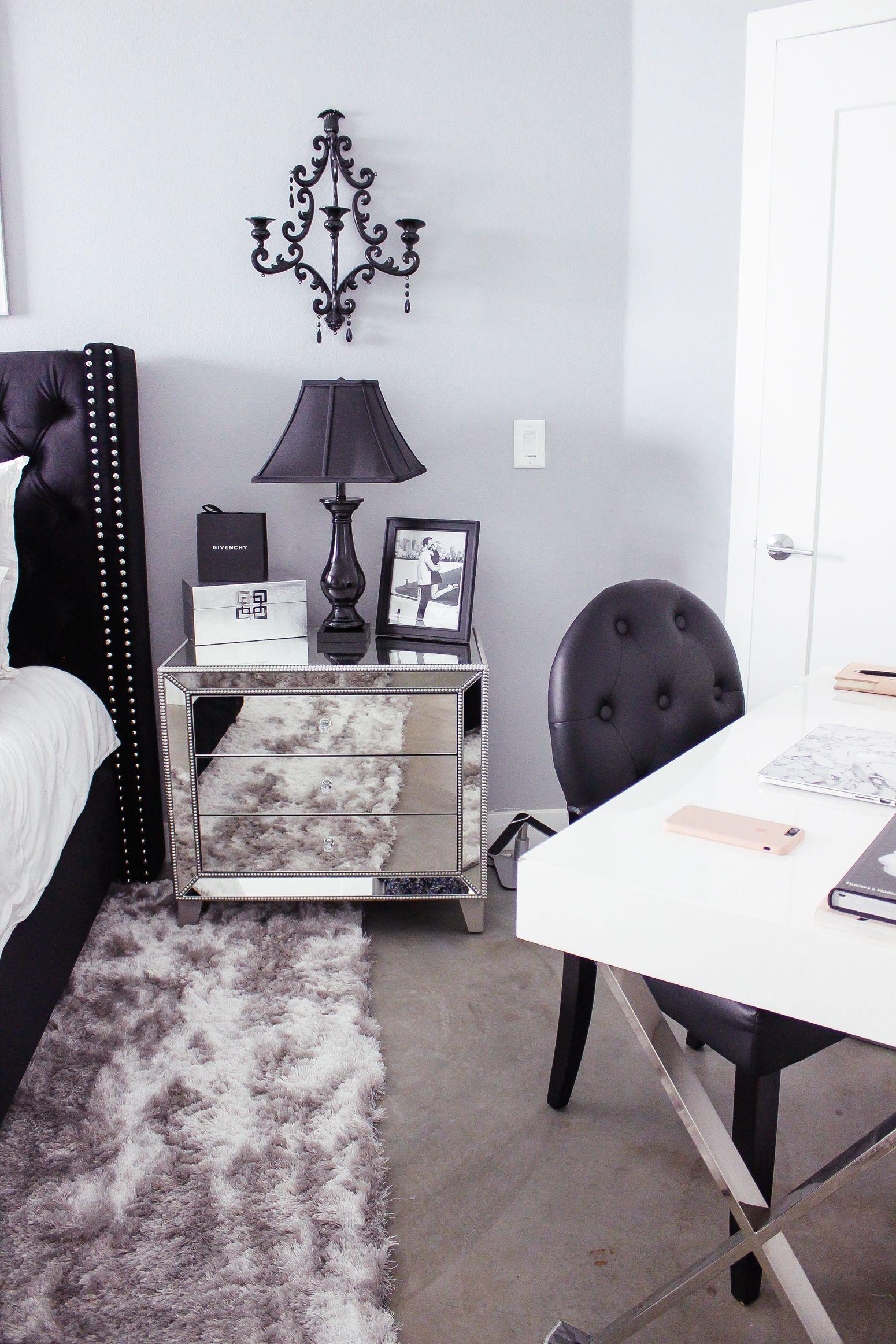 Black & White Bedroom Decor Reveal | ||  Beauty  Fashion ...