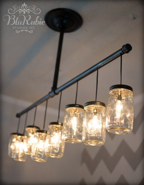 Great Ways For Lighting A Kitchen: 25 Creative Ways To Light Up Mason Jars