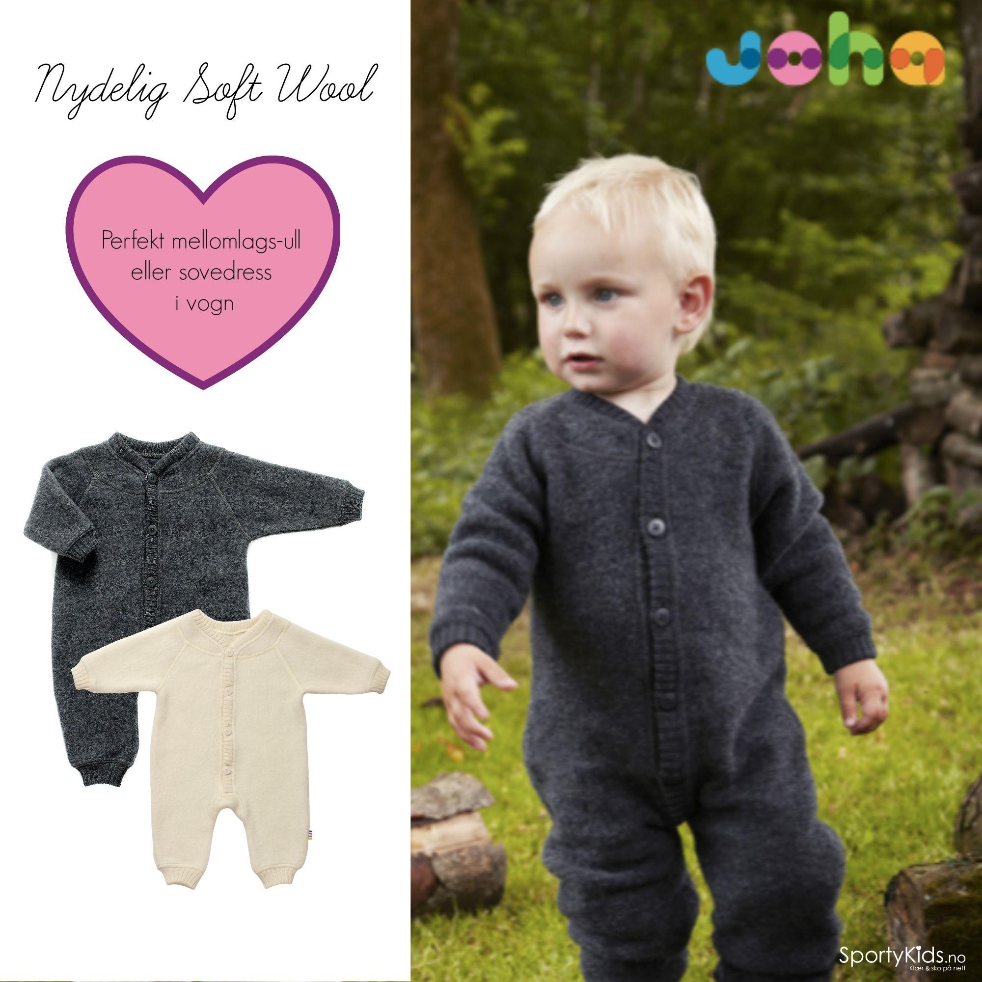 Den beste ulldrakten til småttisene! Joha Soft Wool Ulldrakt kjøpes med Fri Frakt og Lynrask Levering på SportyKids.no :)