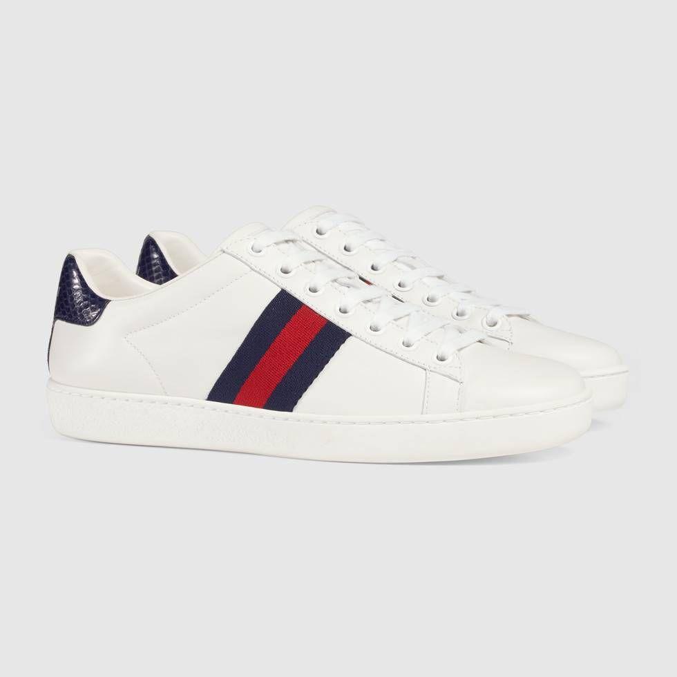 Gucci Women's Ace leather sneaker