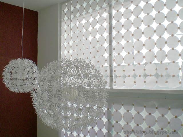 DIY Paper Curtain