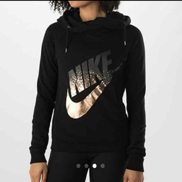 657d486e SOLD ON Ⓜ!!! Rose gold Nike Rally Cowlneck hoodie NO TRADES ...